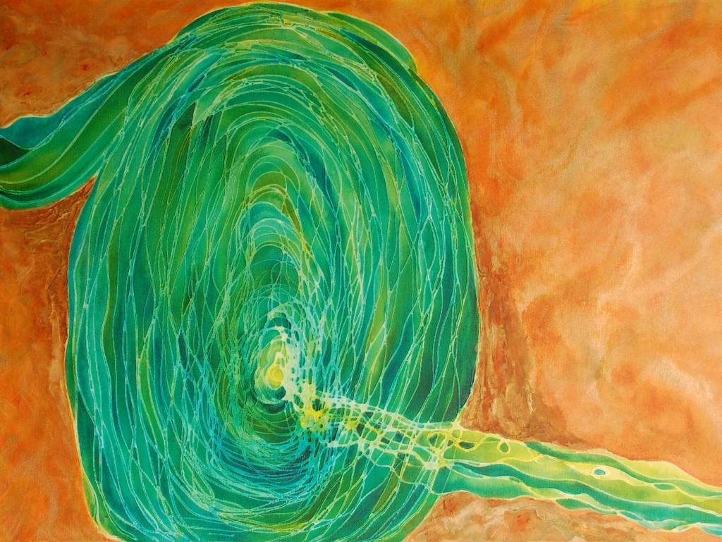 Inner Dimension 30 x 40 ©Melynda Van Zee